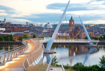Peace Bridge <br>Londonderry, N. Ireland