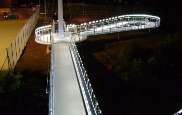Joe Calzaghe Footbridge, Newbrige, Wales