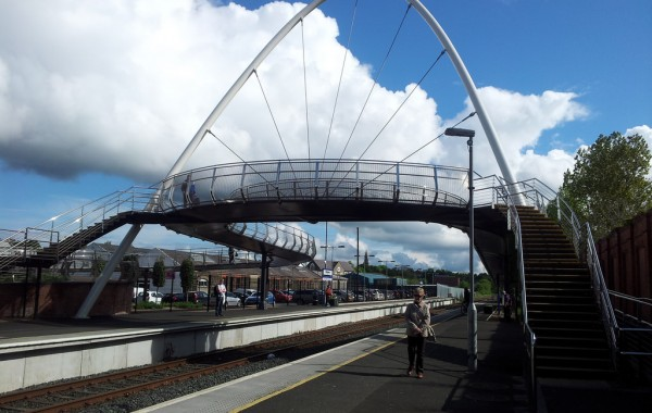Ballymoney Station Footbridge, N. Ireland